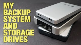 Backup System and Storage Drives I Use