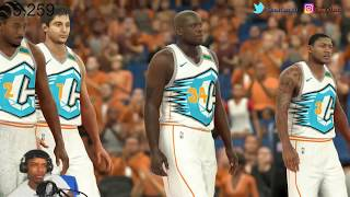 CAVS VS WARRIORS GAME 2 DISCUSSION AND PLAYING NBA 2K17!!!