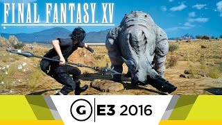 Wait Mode Gameplay - Final Fantasy XV