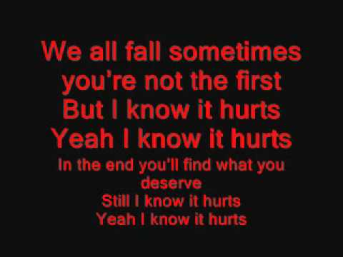 Alter Bridge - I Know It Hurts Lyrics