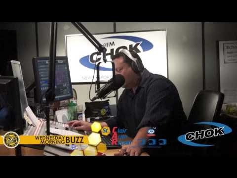 Kevin Spinozzi - The Wednesday Morning Buzz on CHOK