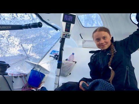 Segeltour nach Amerika: Greta auf der Zielgeraden