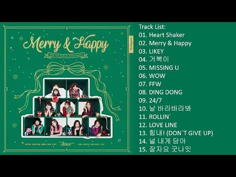 [Full Album] TWICE – Merry & Happy (Repackage Album)