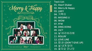 Video [Full Album] TWICE – Merry & Happy (Repackage Album) download MP3, 3GP, MP4, WEBM, AVI, FLV Desember 2017