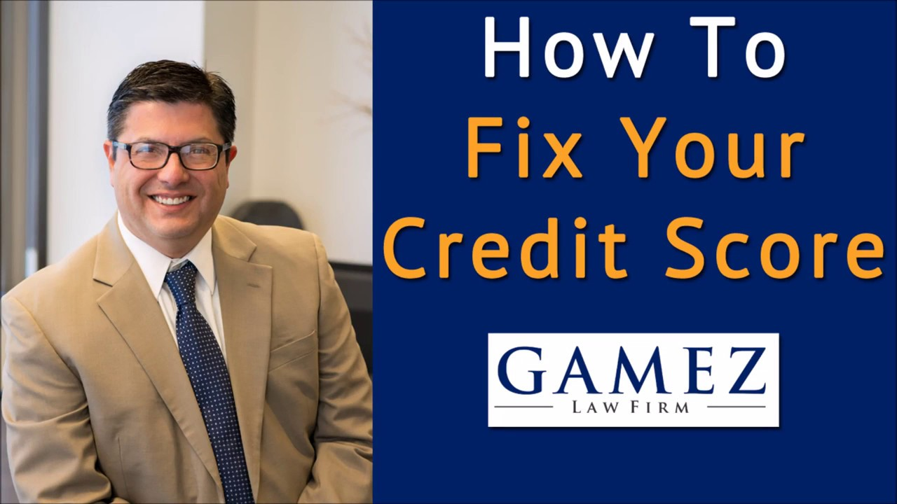 How To Fix Your Credit Score Fast  Credit Repair Tips For A Good Credit  Score