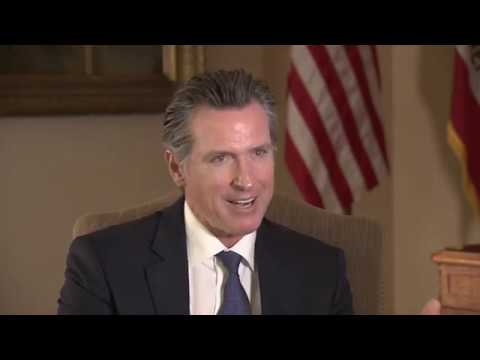 Interview: Gavin Newsom Reflects On First 100 Days As California Governor