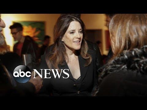 Meet Marianne Williamson, spiritual guru, friend of Oprah's, presidential candidate