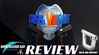 Crisis VRigade PSVR Review: Time Crisis for VR?? | PS4 Pro Gameplay Footage