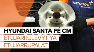 HYUNDAI SANTA FÉ II (CM) Raidetangon Pää vaihto - ohjevideo
