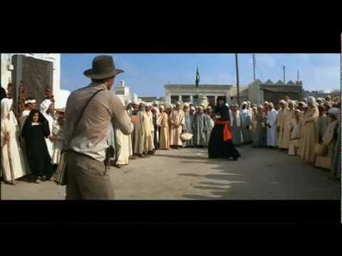 Indiana Jones - Arab Swordsman Scene