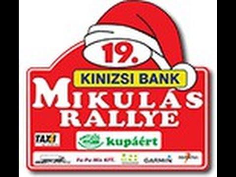 Sipos István Szabó György Mikulás 2015 Rally