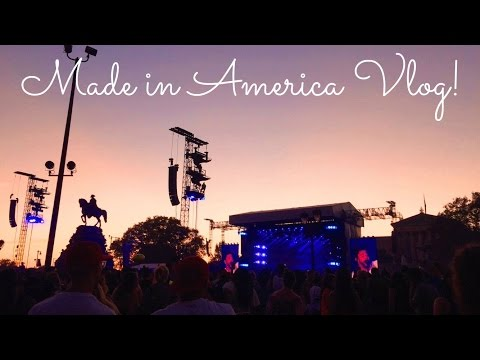 Made in America 2015 (iPhone Vlog)
