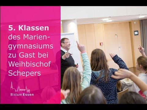 Mariengymnasium besucht Weihbischof Schepers