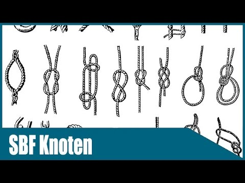 SBF Knoten - Alle wichtigen Knoten für den Sportbootführerschein