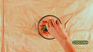 Salsa de mango con aceite de coco