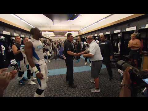 David Tepper gets the game ball