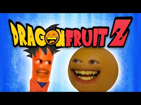 Annoying Orange  Dragon Fruit Z Dragon Ball Z Spoof
