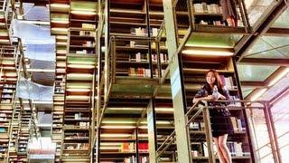 Coolest Library in the World - La Biblioteca Vasconcelos