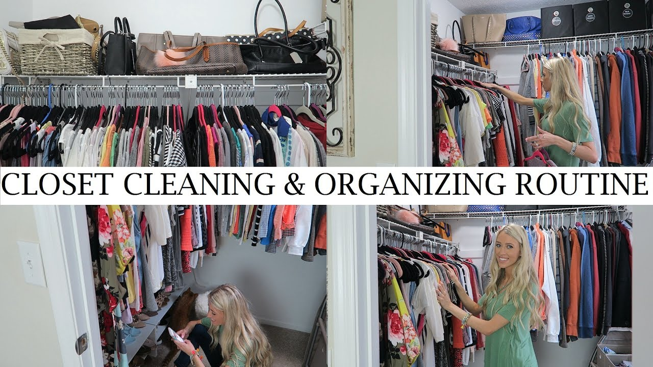 Clean And Organize My Closet With Me! | Clean With Me Vlog Style | Erica Lee