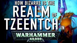 40 Facts and Lore on the Realm of Tzeentch in Warhammer 40K Crystal Labyrinth