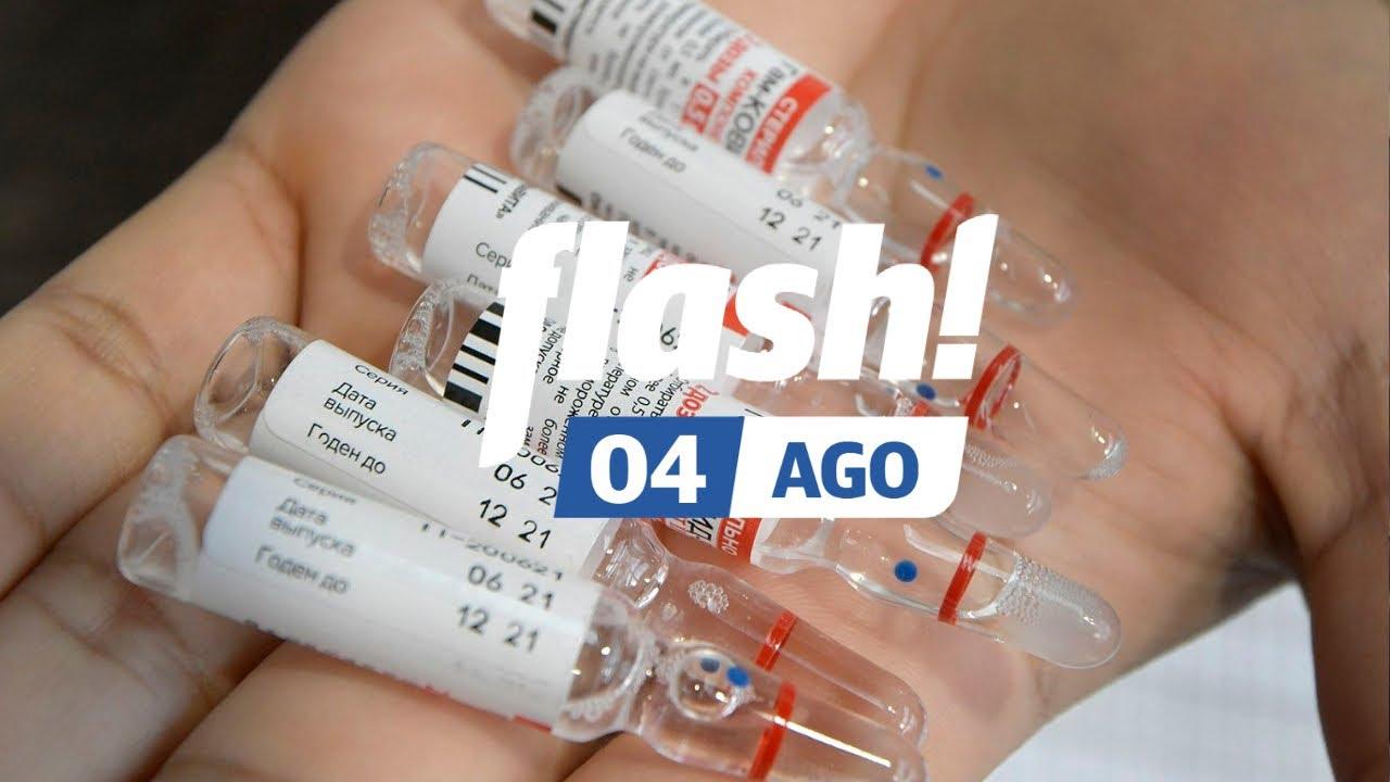 Se viene la combinación de vacunas en Argentina  l Flash! 04/08 ⚡