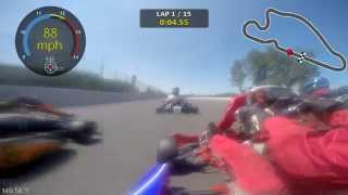 Gold Cup Road Race 2015 #2 @ Portland International Raceway (Shifter Kart)