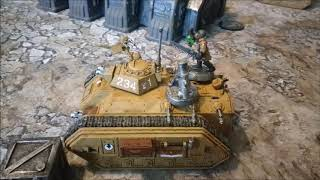 The Firebase - Mechanised Tactics Part 3 - Warhammer 40k 8th Edition