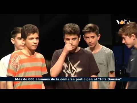 """VOTV -Més de 600 alumnes de la comarca participen al """"Tots Dansen"""""""