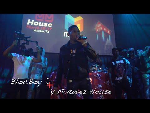 Bloc Boy JB live performance at the