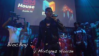 """Bloc Boy JB live performance at the """"My Mixtapez House"""" [SXSW 2018]"""