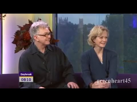 Martin Shaw and Jenny Seagrove on Daybreak  13.10. 2010
