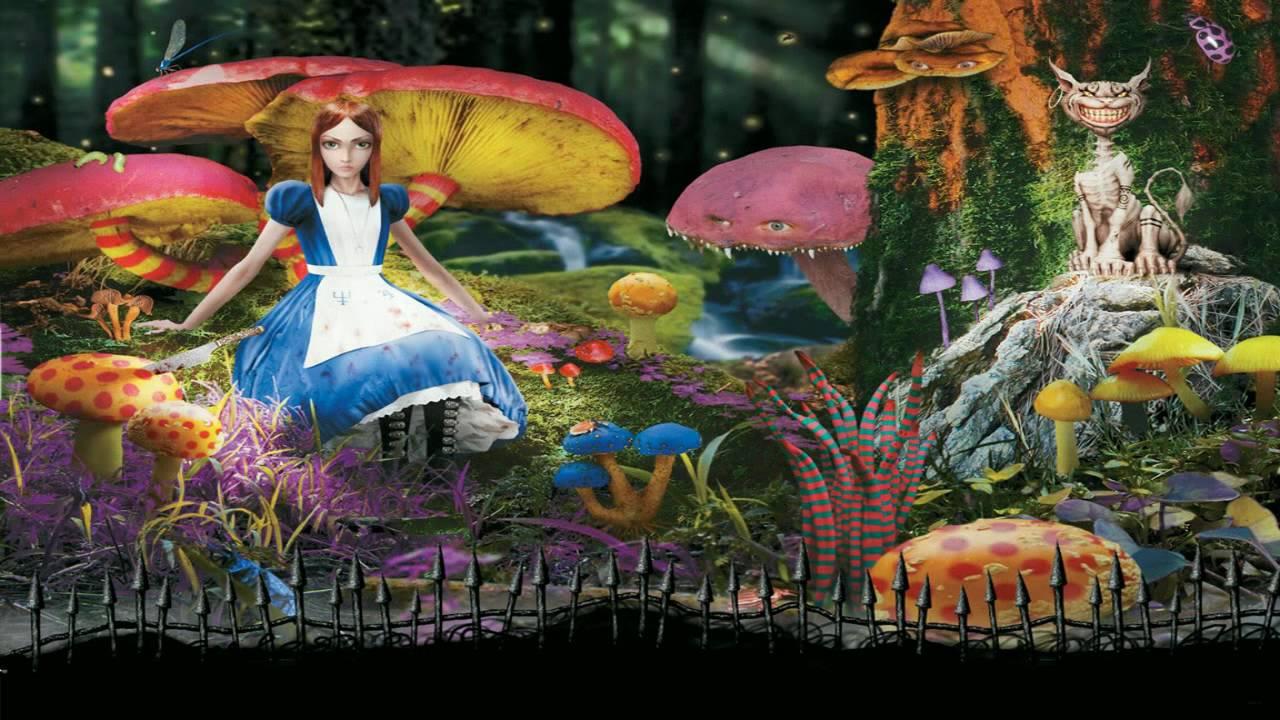 Lsd Trip Wallpaper Hd Injection Alice In Wonderland New Edit Youtube