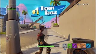 Fortnite Battel royal playing on JJ's ACCOUNT