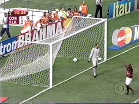 Flamengo 2 x 1 Corinthians - Brasileiro 2001 (flamengo