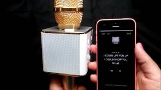 Karaoke Bluetooth Microphone with Speaker - uniqueshopbd.com