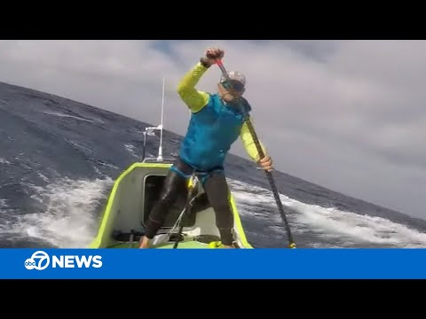 Rich Lauber - Man Paddle Boards From California To Hawaii In Only 76 Days!