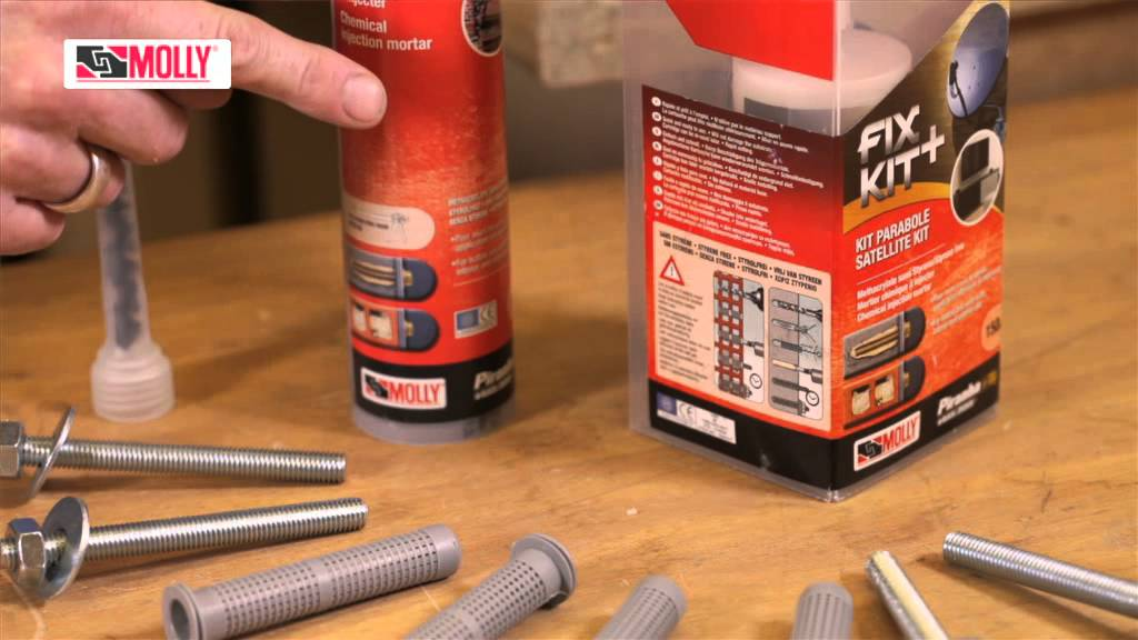 Chemical Fixings How To Use Molly Chemical Fixings In