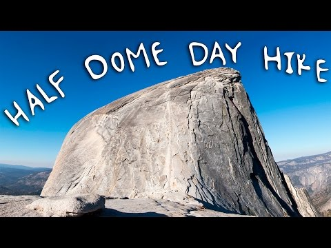 I could NOT feel my legs! How I hiked Half Dome in one Day - Yosemite National Park