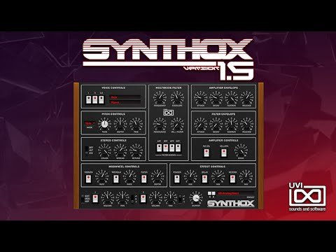 Synthox 1.5   Official Trailer UVI