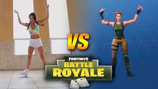 BAILES FORTNITE EN LA VIDA REAL ( Backpack Kid, Electro Shuffle, Jacksfilms, Carlton)