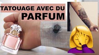 COMMENT FAIRE UN TATOUAGE AVEC DU PARFUM ?!