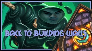 Back to building walls | Taunt druid | The Witchwood | Hearthstone