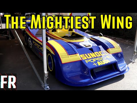 Finding The Mightiest Wing - Goodwood Festival Of Speed 2019