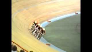 Велоспорт - трек. Чемпионат СССР 1989. КГП 4 км.