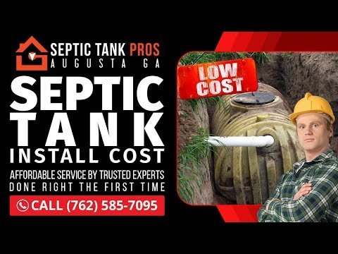 Septic Tank Replacement Cost in North Lawrence