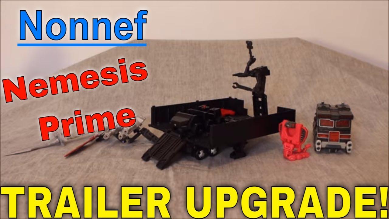 Nemesis Prime ENHANCED: Nonnef Upgrade Kit Review by GotBot