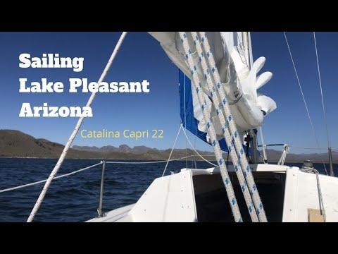 Sailing Lake Pleasant/Catalina 22 Boat Tour