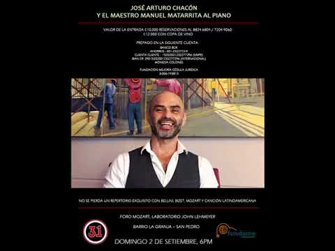 9d32bf375666 José Arturo Chacón Domingo 2 de Set - YouTube