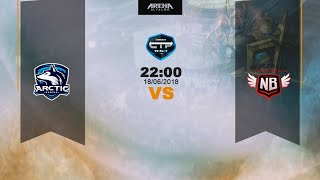 Arctic gaming 🆚 neverback gaming | jornada 7 liga arena of valor | connect to play