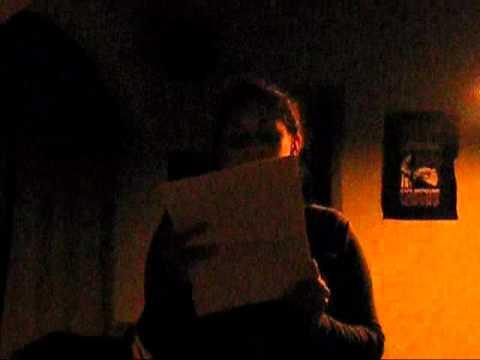 """Ivis Acosta leyendo un relato suyo titulado """"Mi co..."""